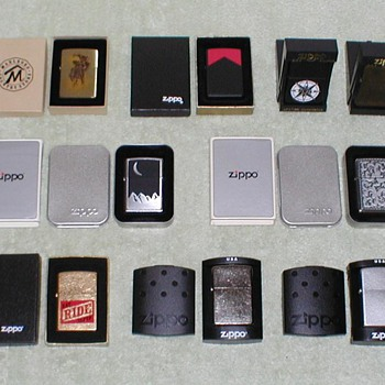 1994-2006 Marlboro Zippo Lighters - Tobacciana