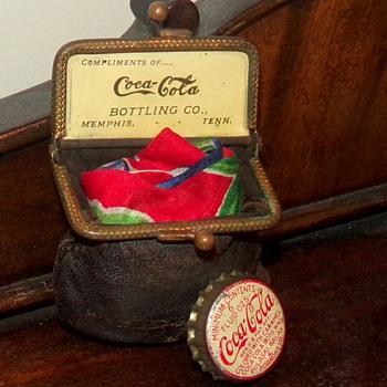 1904 Coca-Cola Complimentary Coin Purse