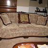 couch &amp; matching barrel chair 