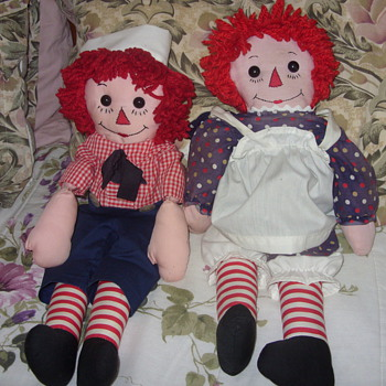 vintage ragetty ann and andy - Dolls
