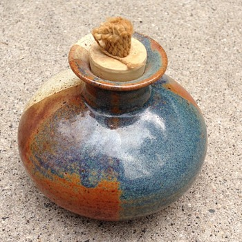 For the love of oil lamps - Art Pottery