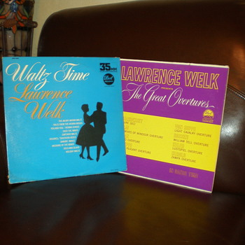 Grandma's 50s - 70s (?) Vinyl - Records