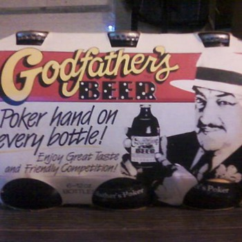 Godfathers Poker Beer - Breweriana