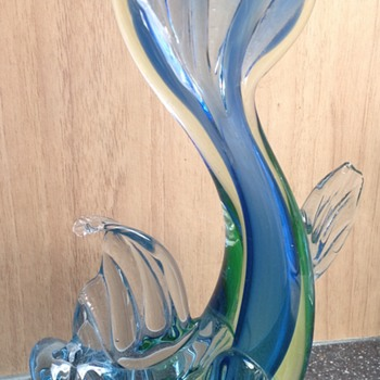 Murano glass fish - Art Glass