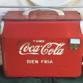 Coke Mexican Coffin Cooler