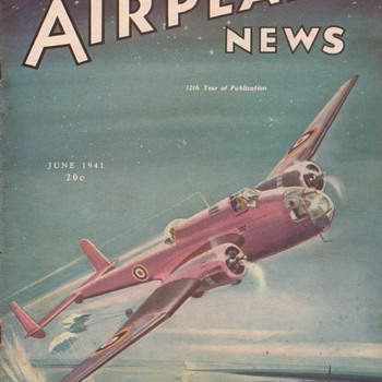 1941 - Model Airplane News magazine - June