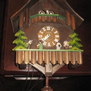 Authentic German Cuckoo Clock - Clocks