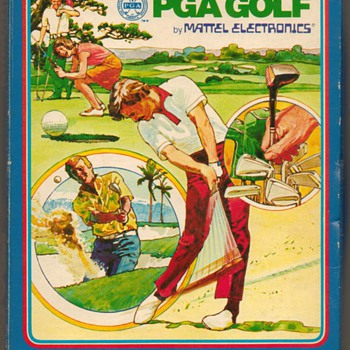 """PGA Golf"" Video Game Cartridge"