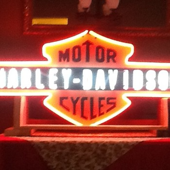 Harley Neon - Signs