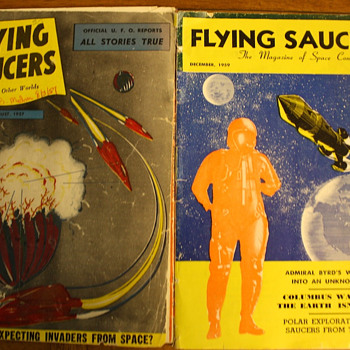 Old Flying Saucer Magazines