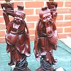 My Chinese root carved lamps