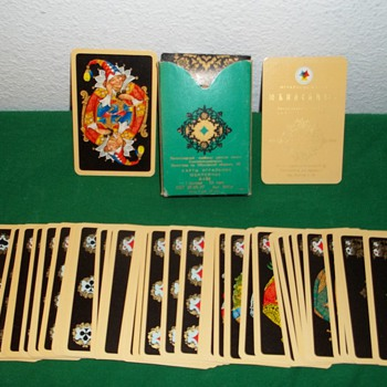 Anniversary cards commemorating 150 years of Russian card making (1817 - 1967). - Cards
