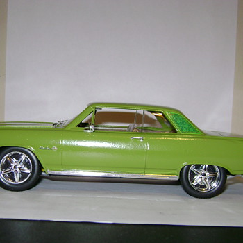 1965 Chevelle SS - Model Cars