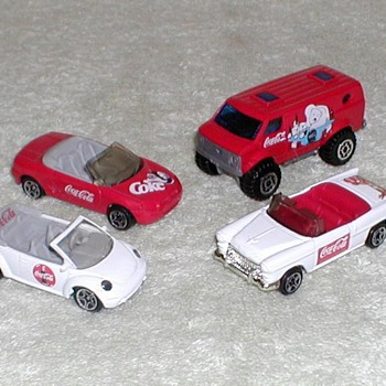 Coca-Cola Matchbox Cars - Toys