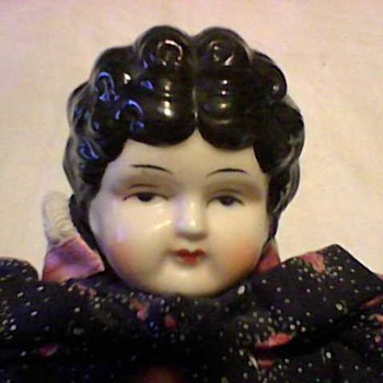 CHINA HEAD LOW BROW DOLL