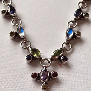 Arts and crafts necklace - Fine Jewelry