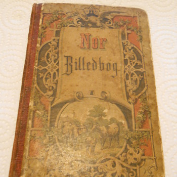 1865 SWISS OR NORWEGIAN BOOK