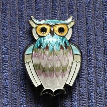Hoot hoot - an Andersen owl - Fine Jewelry