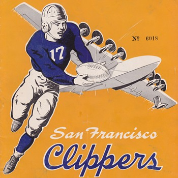 Some Rare old Football Programs