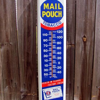 Mail Pouch Thermometer - Signs