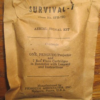 WWII era? Aerial Signal Kit No. SFR-7B by Penguin Assoc  Inc