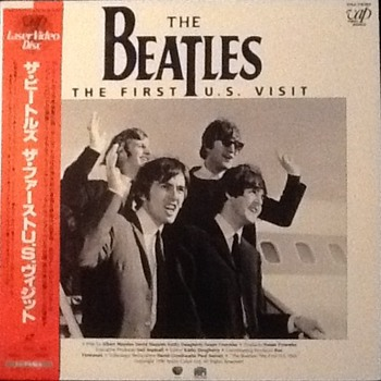 The Beatles first U.S. visit Laserdisc - Music