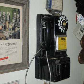 1950's Automatic Electric payphone