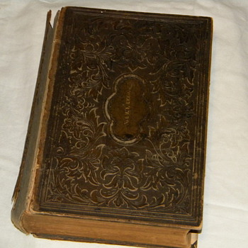 1868 N.&M.A. REED Cottage Bible & Family Expositor