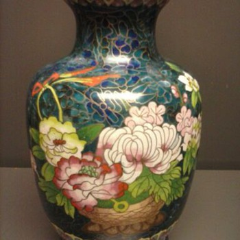 Cloisonne Vase - Asian