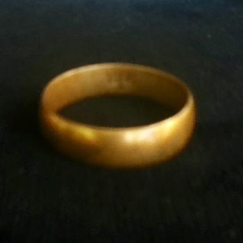 18K Gold Wedding Band - Fine Jewelry