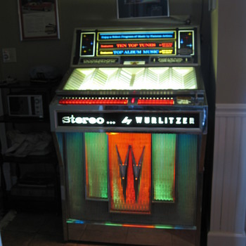 1964 Wurlitzer 2800 Juke Box - Coin Operated