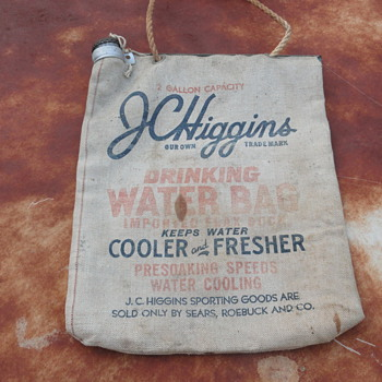 JC Higgins canvas water bag - Bags