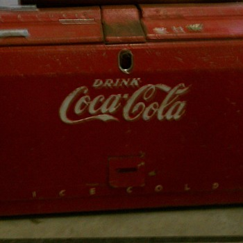 Westinghouse Coke Double Cooler - Coca-Cola