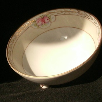 Authentic Rising Sun Hand Painted Nippon Bowl