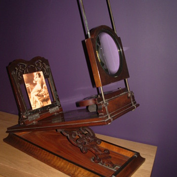 Stereoscope & Graphoscope viewer - Cameras