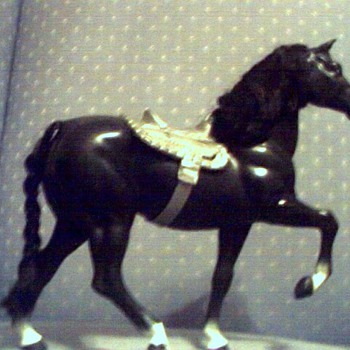 KEN DOLL HORSE MIDNIGHT - Animals