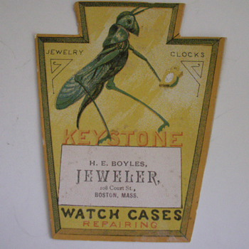 Keystone Watch Cases - Advertising