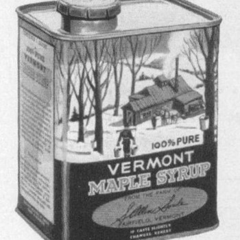 1954 - Vermont Maple Syrup Advertisement - Advertising