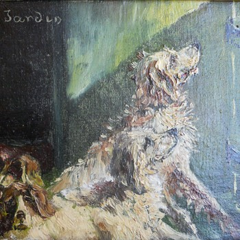 Four Wonderful Dogs - Visual Art