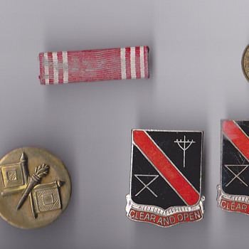 US Army pins 1954 Germany