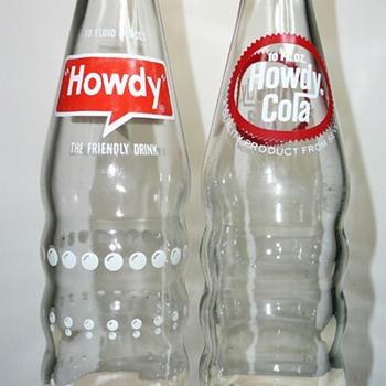 Howdy 7 Up Bottles