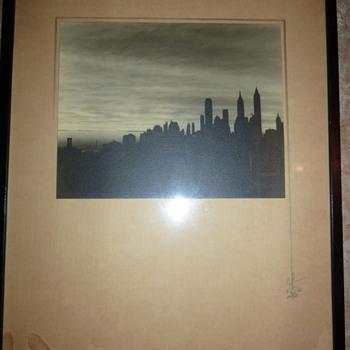Original Drawing - Orient, NY 1935 - Visual Art