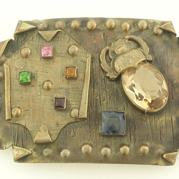 Beaux-Arts style George N. Steere sash pin