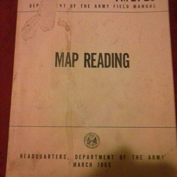 Reading a map!