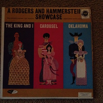 A Rodgers and Hammerstein Showcase The King And I,Carousel and Oklahoma - Records