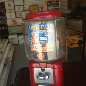 Gumbot Gum Machine - Coin Operated