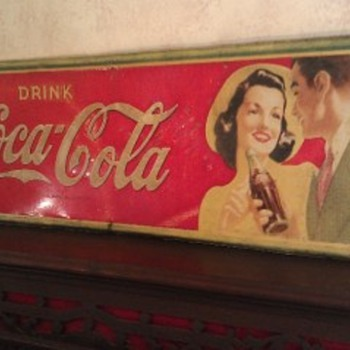 Question on a sign I'm interested in buying as a gift. - Coca-Cola