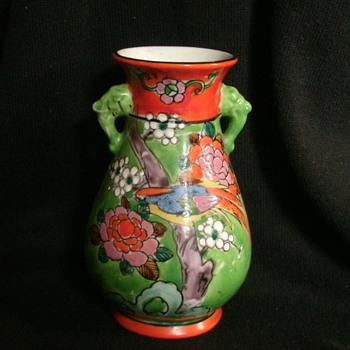 The Takito company Moriage Vase (Nippon)