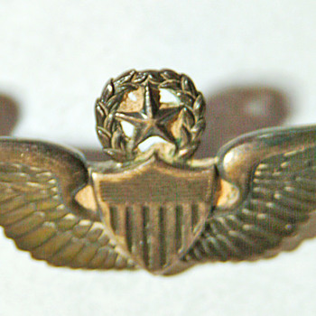 Eagle from my dads hat, and DOR from 1963 Thailand - Military and Wartime