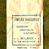 Sacchini Made WWI Italian Victory Medal Planchet with Wrapper.